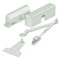 Deltana Dc70 Door Closer, White Finish