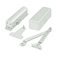 Deltana Dc90 Door Closer, White Finish