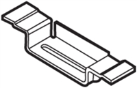 Don Jo Dcb-270-Steel, Dust Cover Box/Frame Hinge, Steel Finish