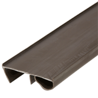 "36"" Dark Bronze Door Bottom Seal For 1-3/4"" Doors"
