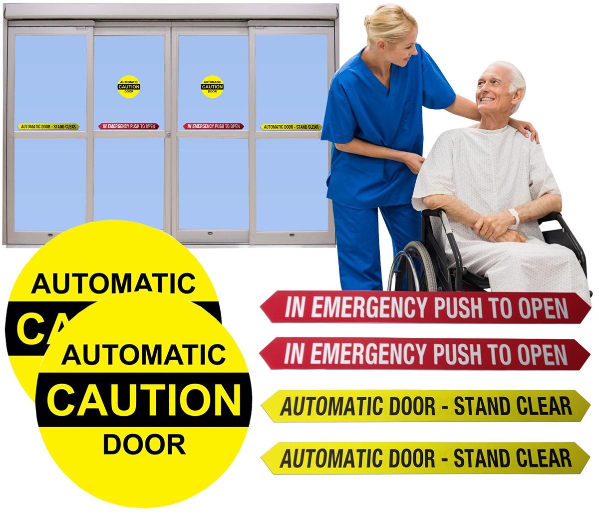Automatic Door Decal Kit