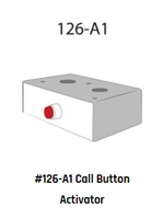 "Deltrex 126-A1 - 2-Piece 3"" X 1"" X 2"" Box With Snap-On Cover With 1 Large Red Guarded Push Button."