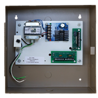 Deltrex 901 - Mantrap, Access Control With Power Supply