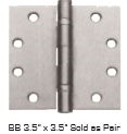 "Global Door Controls Dh-Bb179Sq3535-Us26D Bb 3.5"" X 3.5"" Sold As Pair In Satin Chrome"