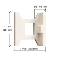 Standard Flush Bolt Nylon Guide