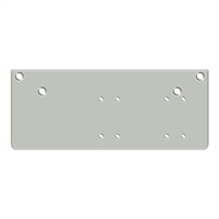 Deltana Drop Plate For Dc40 - Parallel Arm Installation, Aluminum Finish