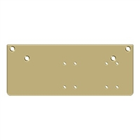 Deltana Drop Plate For Dc40 - Parallel Arm Installation, Gold Finish