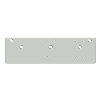 Deltana Drop Plate For  Dc40 - Standard Arm Installation, Aluminum Finish