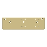 Deltana Drop Plate For  Dc40 - Standard Arm Installation, Gold Finish