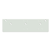 Deltana Drop Plate For  Dc40 - Standard Arm Installation, White Finish