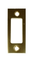 "Don Jo DS-234-605, 2-3/4"" x 1-1/8"" Deadbolt Strike, Bright Brass"