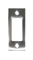 "Don Jo DS-234-630, 2-3/4"" x 1-1/8"" Deadbolt Strike, Satin Stainless Steel"