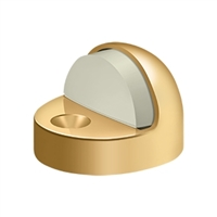 Deltana Dshp916Cr003 - Dome Stop High Profile, Solid Brass - Pvd Polished Bronze Finish