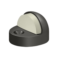 Deltana Dshp916U10B - Dome Stop High Profile, Solid Brass - Oil-Rubbed Bronze Finish