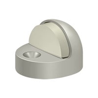 Deltana Dshp916U15 - Dome Stop High Profile, Solid Brass - Brushed Nickel Finish
