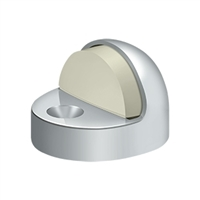 Deltana Dshp916U26 - Dome Stop High Profile, Solid Brass - Polished Chrome Finish