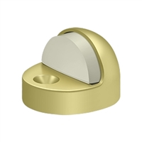 Deltana Dshp916U3 - Dome Stop High Profile, Solid Brass - Polished Brass Finish