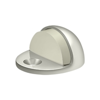Deltana Dslp316U14 - Dome Stop Low Profile, Solid Brass - Polished Nickel Finish