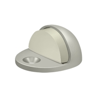 Deltana Dslp316U15 - Dome Stop Low Profile, Solid Brass - Brushed Nickel Finish