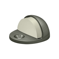 Deltana Dslp316U15A - Dome Stop Low Profile, Solid Brass - Antique Nickel Finish