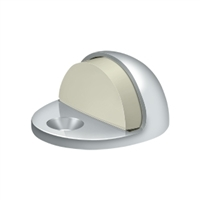 Deltana Dslp316U26 - Dome Stop Low Profile, Solid Brass - Polished Chrome Finish