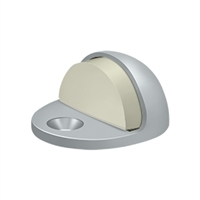 Deltana Dslp316U26D - Dome Stop Low Profile, Solid Brass - Brushed Chrome Finish