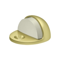 Deltana Dslp316U3 - Dome Stop Low Profile, Solid Brass - Polished Brass Finish