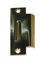 "Don Jo DST-161-605, 4-7/8"" x 1-1/4"" Dimple Strike, Bright Brass"