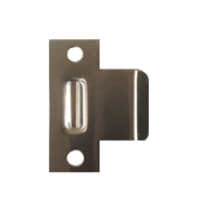 "Don Jo DT9103-605, 2-3/4"" x 3"" Extended Lip Dimple T Strike, Bright Brass"