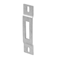 Prime Line E 2015 Sliding Door 3/4-Inch Wide Surface Mount Keeper, Stainless Steel