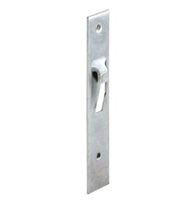 Prime Line E 2019 Sliding Door Keeper, Plated Steel