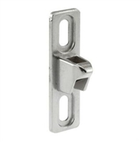 Prime Line E 2040 Sliding Door Keeper, 3/4-Inch Wide, Zinc Plated Diecast