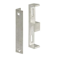 Prime Line E 2046 Sliding Door Keeper And Bracket, Aluminum Diecast
