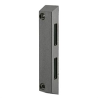 Prime Line E 2061 Sliding Door Keeper, Side Mount, Black