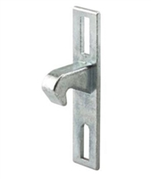 Prime Line E 2093 Sliding Door Keeper With Zinc Plated Diecast