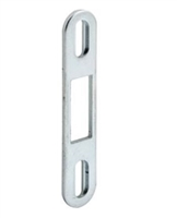 Prime Line E 2097 Sliding Door Keeper, Zinc Plated Steel