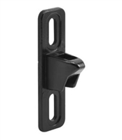 Prime Line E 2099 Sliding Door 3/4-Inch Wide Keeper, Black
