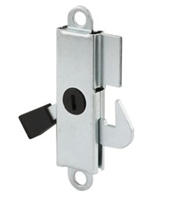Prime Line E 2105 Sliding Door Internal Lock, Aluminum With Steel Hook And Lever