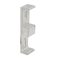Prime Line E 2120 3/4-Inch Wide Aluminum Sliding Door Keeper