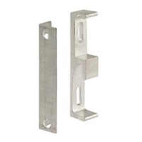 Prime Line E 2142 Aluminum Sliding Door Keeper With Bracket
