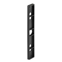 Prime Line E 2181 Sliding Door Handle Shim Plate, Black
