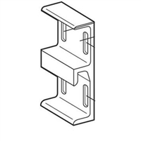 Prime Line E 2566 - Bronze Sliding Door Keeper, Extruded Aluminum, 1-1/2 In.