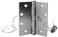 Don Jo E6W-633, 6 Wire Electrified Hinge, 633 Finish
