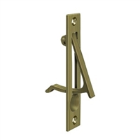 "Deltana Ep475U5 - Edge Pull, 4""X 3/4"" - Antique Brass Finish"