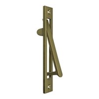 "Deltana Ep6125U5 - Edge Pull Hd, 6 1/4"" X 1 1/4"" - Antique Brass Finish"