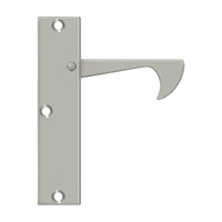 "Deltana Ept425U15 - Edge Pulls-Thin, 4 1/4""X 1""X 3/8"" - Brushed Nickel Finish"