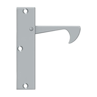 "Deltana Ept425U26D - Edge Pulls-Thin, 4 1/4""X 1""X 3/8"" - Brushed Chrome Finish"