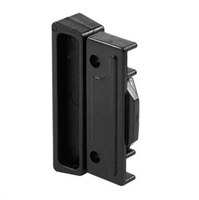 Prime Line F 2518 - Sliding Window Latch&Pull, Auto Latching, Black Plastic