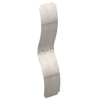 Prime Line F 2538 - Wood Window Sash Spring, Side Mount, Chrome Plated Steel