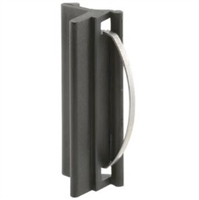 Prime Line F 2548 - Sliding Window Latch&Pull, Self Latch, Black Plastic Bee Cee